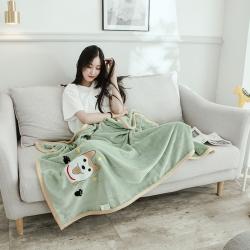 (總)沐靈家紡 2020新款云貂絨休閑童毯兒童毛毯