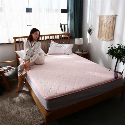 棕康垫业 2019新款乳胶床垫珍珠系列 珍珠-粉