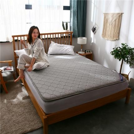 棕康垫业 2019新款乳胶床垫珍珠系列 珍珠-灰