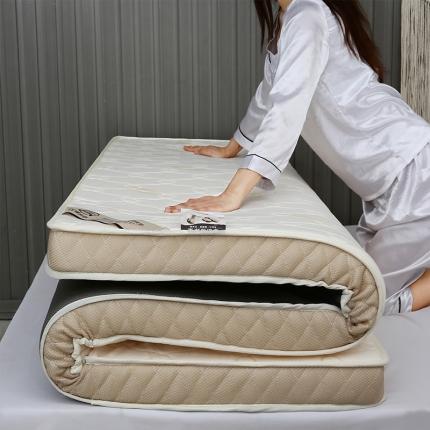 棕康垫业 2019新款针织乳胶床垫 羽毛黄