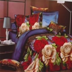 永恒布業  活性印花天鵝絨   花都時尚