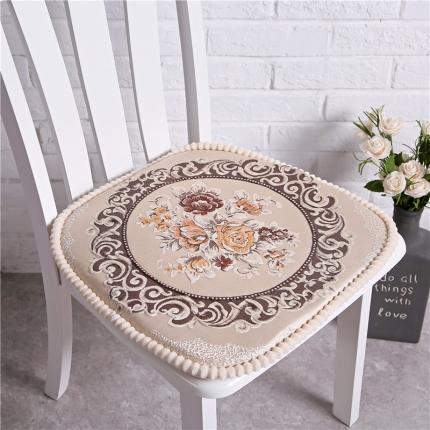 (总)哈创家居 餐椅垫国色天香系列