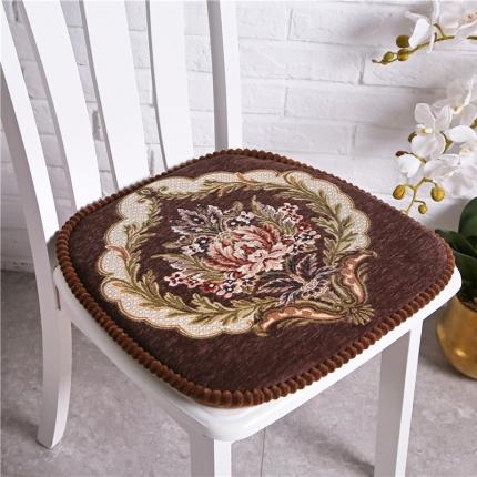 哈创家居 餐椅垫一缕阳光系列 一缕阳光咖色