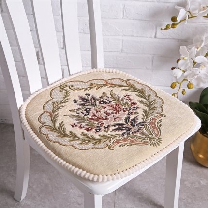 哈创家居 餐椅垫一缕阳光系列 一缕阳光米色
