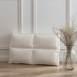 富乐屋家纺 2019新款零压力枕芯单个 白色