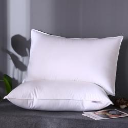 91庫存 全棉133100星級酒店專供雙針羽絲絨軟枕芯