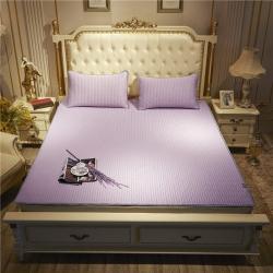 久久紅 2019泰國正品純色系列乳膠涼席 經典-淺紫色