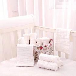 吖噢  全棉紗布泡泡紗嬰幼兒尿片 嬰童用品 18*40 尿布