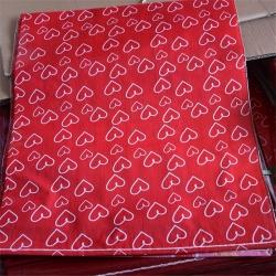 彩印覆膜防水袋网销袋套件爱心快递袋厂家直销批发零售