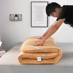 天艺床垫 彩色羊羔绒款(1)床垫 驼色