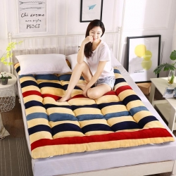 富百世 加厚床垫床褥床双人褥子学生宿舍海绵床垫垫被 裸婚