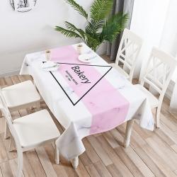 鹿野家居 2019桌布新品 粉白贝壳