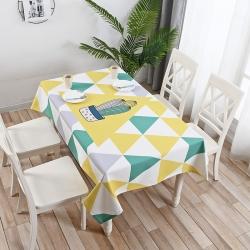 鹿野家居 2019桌布新品 柠檬格