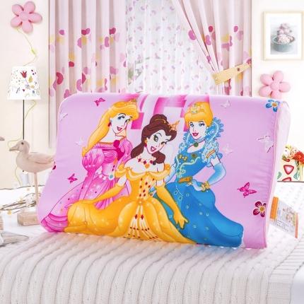 吉咪兔家纺 卡通慢回弹记忆枕美丽公主