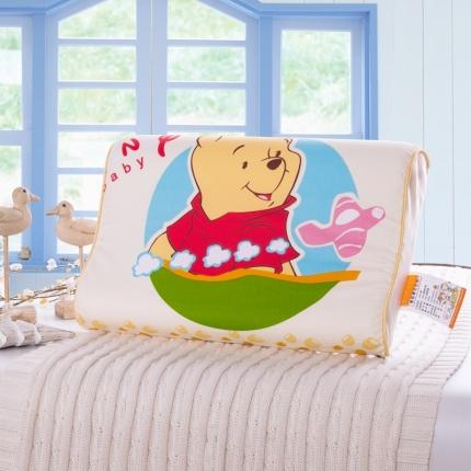 吉咪兔家纺 卡通慢回弹记忆枕小熊天地