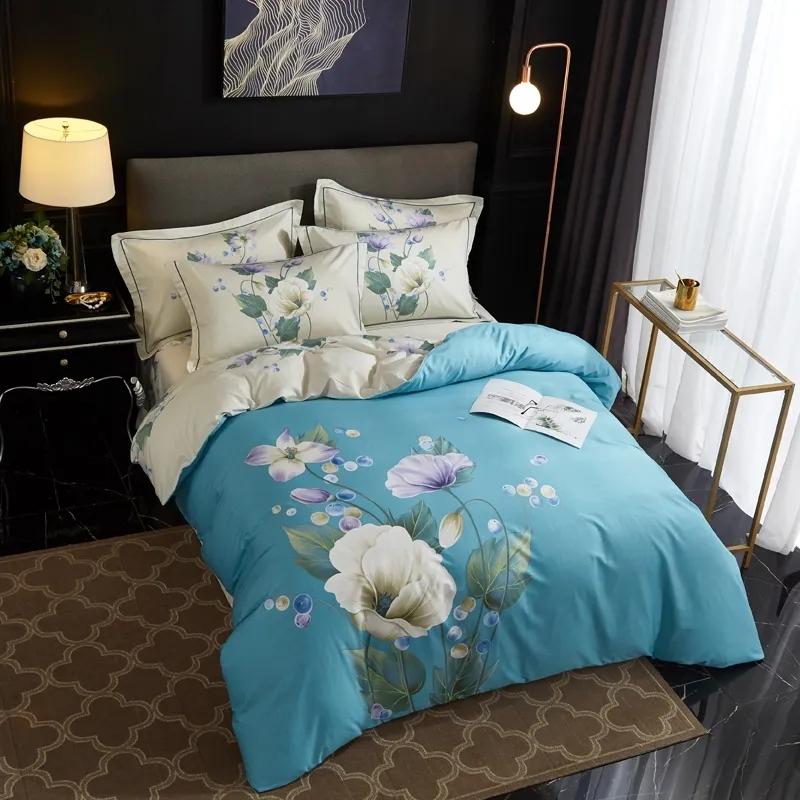 慕凡:全棉面料,優雅花型,讓你睡出風雅人生