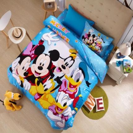 迪士尼家居 全棉迪士尼四件套床单款MU-QSZ-706