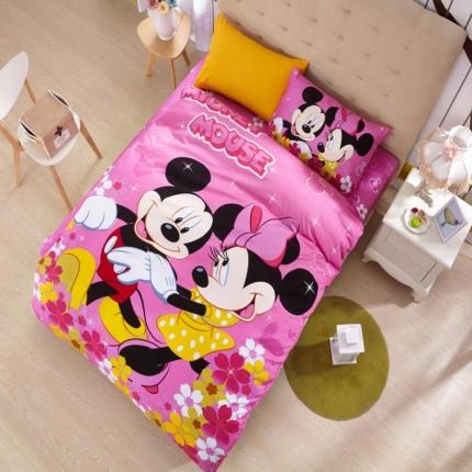 迪士尼家居 全棉迪士尼四件套床单款MU-QSZ-708
