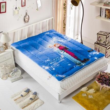 迪士尼家居 全棉法兰绒床垫068