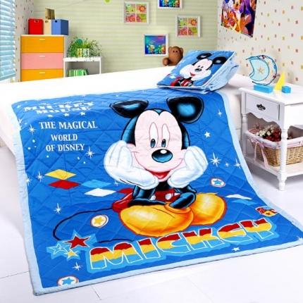 迪士尼家居 全棉活性印花方垫被760