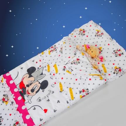 迪士尼家居 全棉活性印花可脱卸睡袋3777