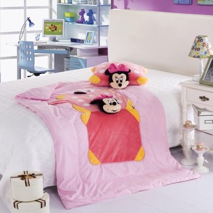 (总)迪士尼家居 全棉玩具方垫被