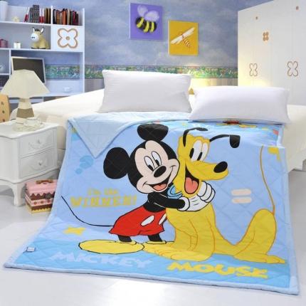 迪士尼家居 全棉活性印花夏被4075