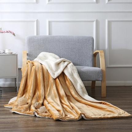 网客家纺 ULTIMATE顶级羊羔绒毛毯卢克索米
