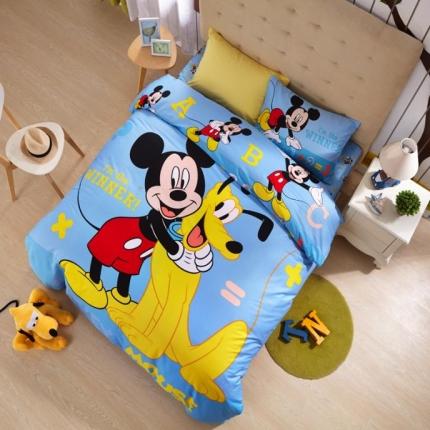 迪士尼家居 全棉迪士尼四件套床单款MU-4075
