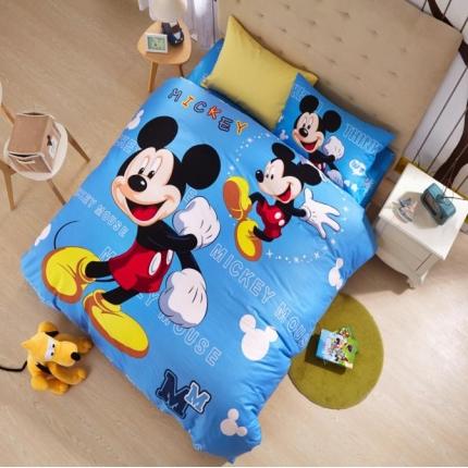 迪士尼家居 全棉迪士尼四件套床单款MU-QSZ-705