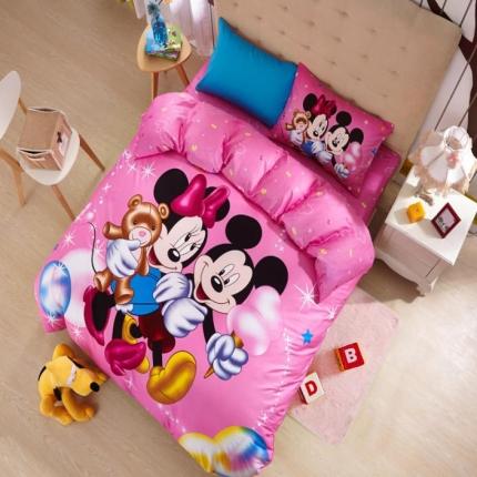 迪士尼家居 全棉迪士尼四件套床单款MU-QSZ-707