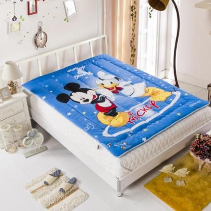 迪士尼家居 全棉法兰绒床垫733