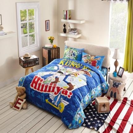 (总)迪士尼家居 全棉活性印花四件套床单款