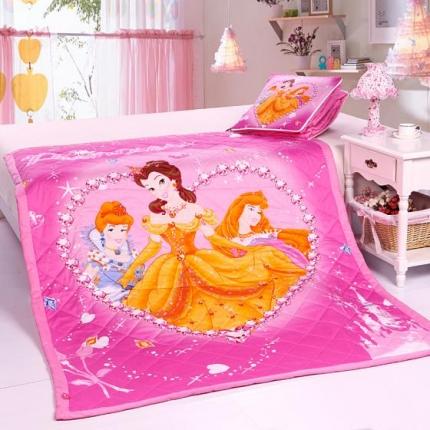 迪士尼家居 全棉活性印花方垫被741