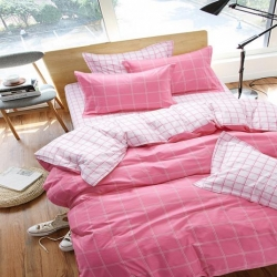 (总)鼎盛家纺 小清新宜家系列四件套床单款