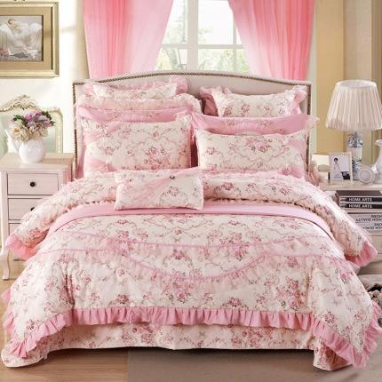 浩情国际 80S蕾丝系列玛利亚小镇8-9-10件套床盖款