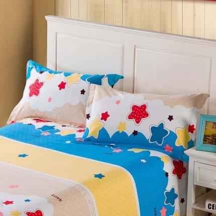艾羽家纺 全棉高级磨毛澳棉系列单品枕套 童星无限