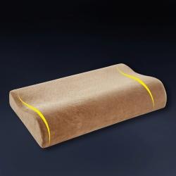 沃蘭國際 針織棉曲線記憶枕  空氣層大提花護頸舒適枕 多規格