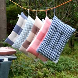 錦繡萬家 全棉水洗羽絲絨枕頭枕芯簡約風