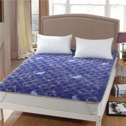 宝宝绒床垫防滑保暖床褥床护垫可机洗软垫薄垫榻榻米垫被