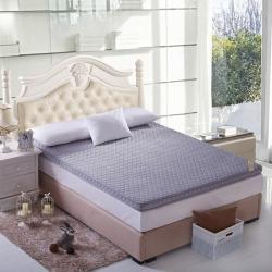 芙琳家纺 精美超柔珊瑚绒立体床垫