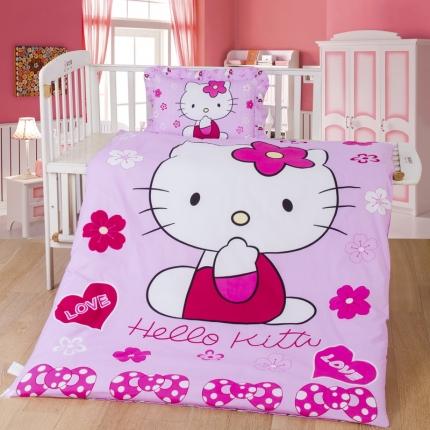 (总)吉咪兔家纺 13372大版花被子+枕头两件套不含芯