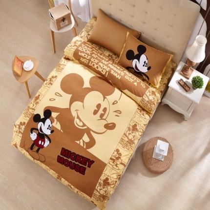 迪士尼家居 全棉迪士尼四件套床单款MU-QSZ-701