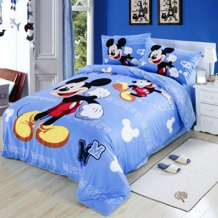 迪士尼家居 法莱绒四件套705