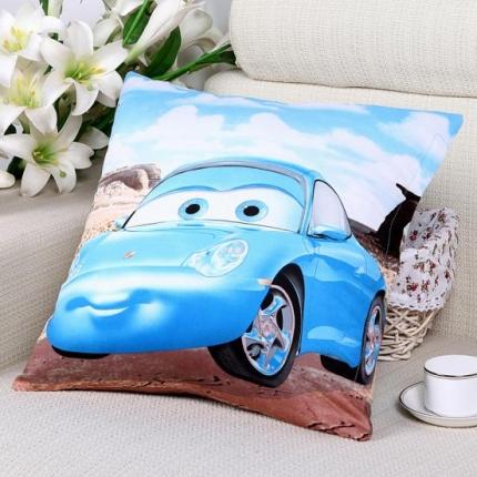 (总)迪士尼家居 全棉活性印花方垫