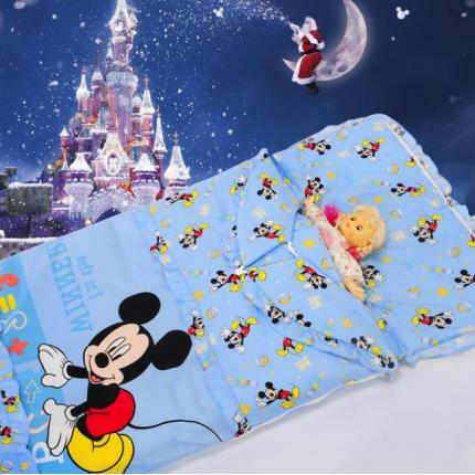 迪士尼家居 全棉活性印花可脱卸睡袋4075