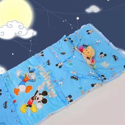 迪士尼家居 全棉活性印花可脱卸睡袋3797闭眼