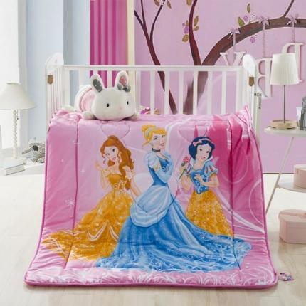 迪士尼家居 全棉活性印花儿童春秋被公主
