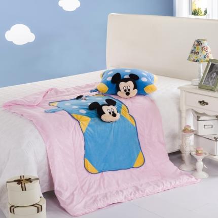 迪士尼家居 全棉玩具方垫被米奇