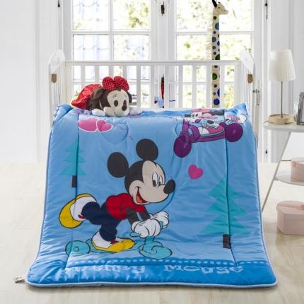 迪士尼家居 全棉活性印花儿童春秋被米奇